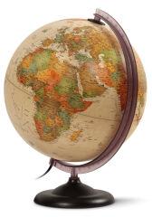 Wonday Globe lumineux FIRST, 300 mm, texte francais