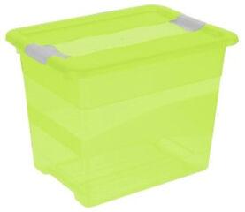 Boîte de rangement 'cornelia' 24 litres, transparent - keeeper