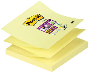 Post-it Bloc-note Super Sticky Z-Notes, 76 x 76 mm