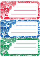 HERMA Étiquettes pour livres 'Schoolydoo', 76 x 35 mm,