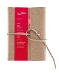 Carnet de notes SenseBook FLAP - A5 - Ligné - 135 pages