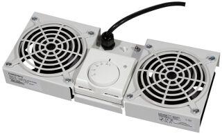 LogiLink Unité de ventilation de toit pour coffrets muraux