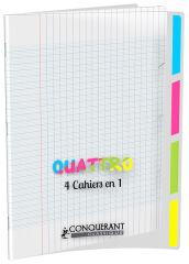 Cahier trieur - 24x32cm - Grands Carreaux - 140 pages