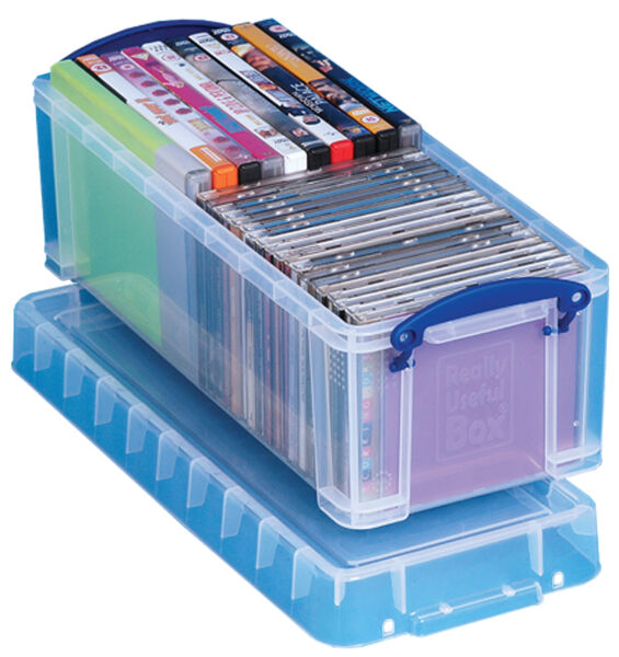 Really Useful Box Bo Te De Rangement 6 5 Litres Incolore Achat Vente Really Use Box 24805711
