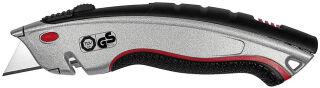 WEDO Safety-Cutter pro Plus, lame: 19 mm, argent/noir