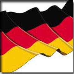 PAPSTAR Serviettes à motif 'Germany', 300 x 300 mm