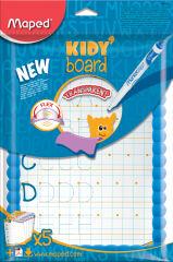 Maped kit ardoise transparente Kidy'Board, assorti