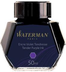 WATERMAN Flacon d'encre, contenu: 50 ml, en verre, violet