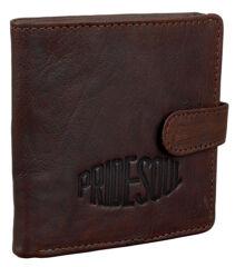 PRIDE&SOUL Porte-monnaie 'LOGAN', cuir, marron