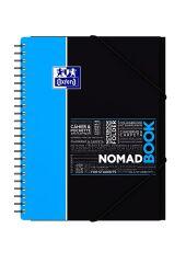 Bloc-notes NomadBook A4 - 80 feuilles - Petits carreaux - Oxford