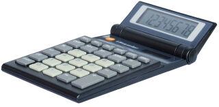 TRITON Calculatrices L-819 solar, noir