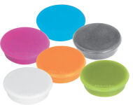 franc Aimants MagFun, diamètre: 32 mm, couleurs assorties