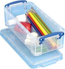 Boîte de rangement 0,90 litre, incolore - Really Useful Box