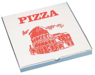 STARPAK Carton de pizza, carré, 330 x 330 x 30 mm