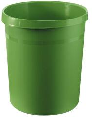 HAN Corbeille à papier GRIP, 18 litres, rond, vert