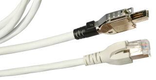 EC-net Câble Patch Cat.5e SF/UTP, 2 paire, 0,5 m