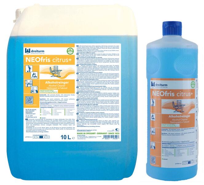 Dreiturm nettoyant base d 39 alcool neofris citrus 1 for Nettoyant pvc professionnel