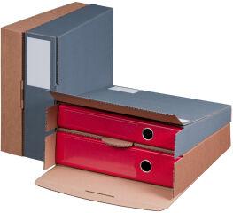 smartboxpro Carton d'expédition pour classeur, anthracite,