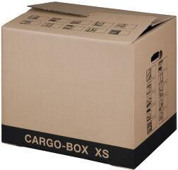 smartboxpro Carton de déménagement 'CARGO-BOX-PLUS S',marron