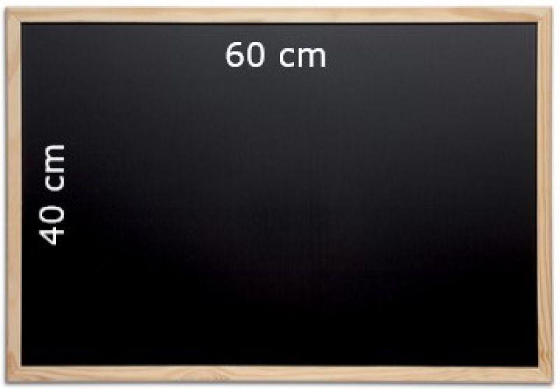 Tableau noir craie 60 x 40 cm maul for Tableau noir craie