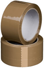 smartboxpro Ruban d'emballage, PP, 50 mm x 66 m, transparent