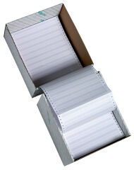 rillprint Papier listing en continu, 380 mm x 8' (20,32 cm)