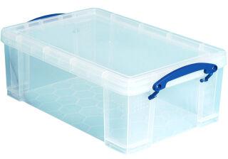 Boîte de rangement 5 litres, incolore - Really Useful Box