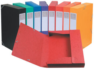 EXACOMPTA Boîte de classement Cartobox, A4, 60 mm, orange
