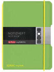 herlitz Carnet de notes my.book flex, A6, PP, vert clair