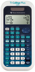 Calculatrice TI-Collège Plus Solaire - TEXAS INSTRUMENTS