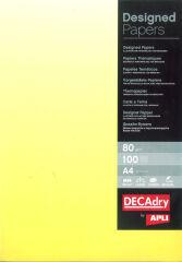 agipa Papier pré-imprimé, A4, 80 g/m2, dégradé jaune