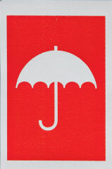 smartboxpro Etiquette d'avertissement 'contre humidité'