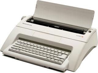 OLYMPIA Machine à écrire électrique 'Carrera de luxe'