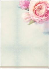 sigel Papier à motif, A4, 90 g/m2, motif 'Flowerstyle'