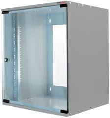Accessoire, LogiLink Ersatztür für 19' Wandverteiler SoHo, 6HE,lichtgrau