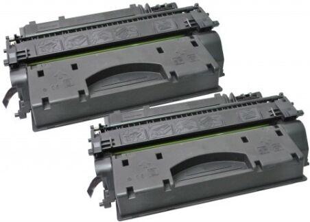hp Toner 80X pour hp LaserJet Pro 400, noir, HC, pack double