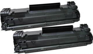 hp Toner pour hp LaserJet Pro P1102/P1102W HC, noir,2 pièces