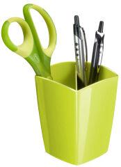 CEP Pot à crayons GLOSS, 2 compartiments, blanc