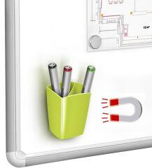 CEP Pot à crayons GLOSS, magnétique, blanc