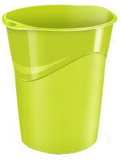 CEP Corbeille à papier GLOSS, 14 litres, blanc polaire