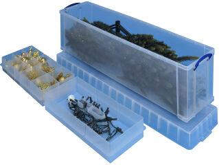 Boîte de rangement 77 litres + 2 casiers - Really Useful Box