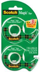 Scotch Dévidoir à main Magic, équipé, transparent