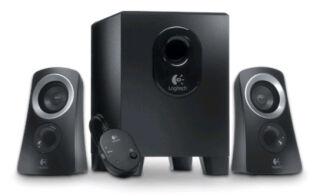 Logitech 2.1 système haut-parleur Z313, noir