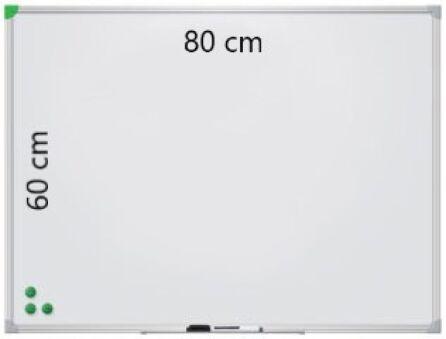 Tableau Blanc Laqué Magnétique 80 cm x 60 cm - Franken