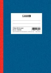 LANDRÉ Carnet de notes DIN A5, 144 pages, 70 g/m2, quadrillé