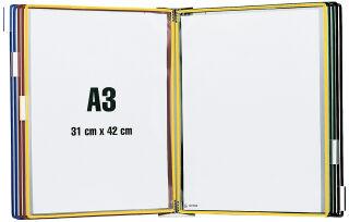 tarifold Kit mural métal, A3, équipé