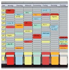 Tableau planning à fiches T 'OfficePaner' hebdomadaire - FRANKEN
