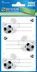 AVERY Zweckform ZDesign Etiquettes pour livres 'football'