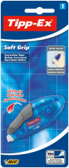 Tipp-Ex Ruban correcteur 'Soft Grip', 4,2 mm x 10 m, blister