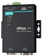 MOXA Serveur Serial Device, 2 ports, RS-232/422/485